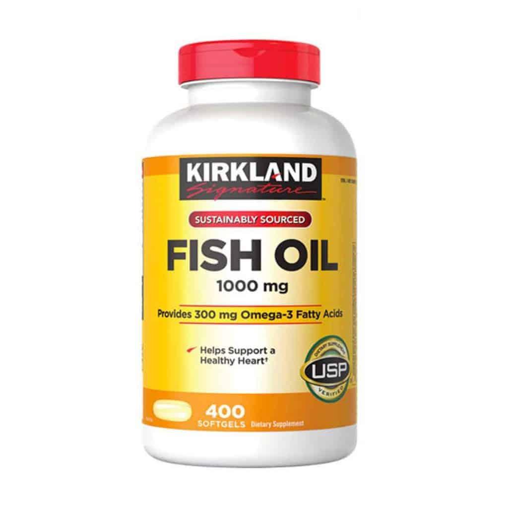 Dầu cá Kirkland luôn đảm bảo được tính an toàn và hiệu quả khi sử dụng