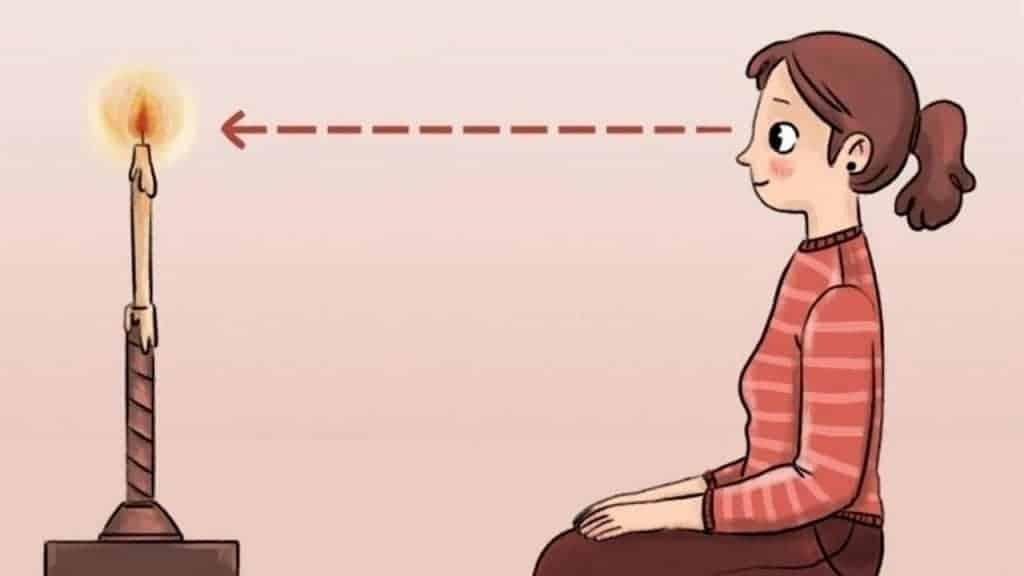 Bài tập Trataka của Ấn Độ có tác dụng tích cực với những người bị cận thị