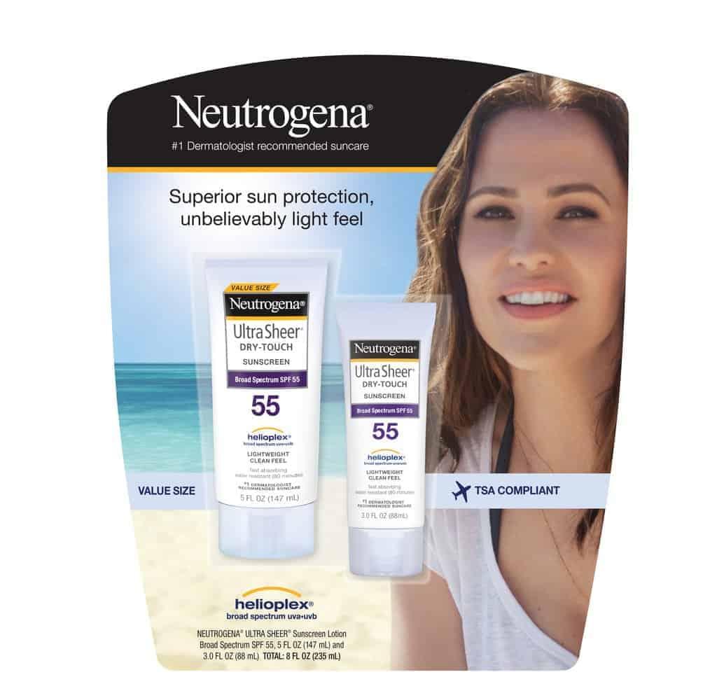 Set 2 kem chống nắng Neutrogena siêu tiết kiệm và tiện lợi