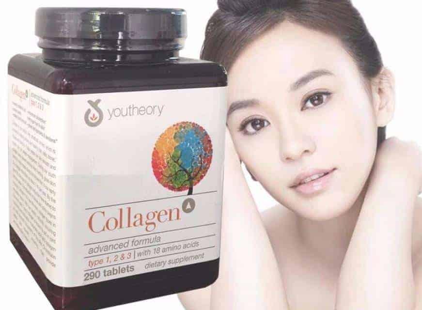 Uống Collagen giúp chống lão hóa và làm đẹp da rất hiệu quả