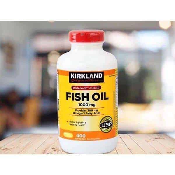 Viên uống dầu cá Kirkland Signature - người bạn đồng hành bảo vệ thị lực cho cả gia đình.