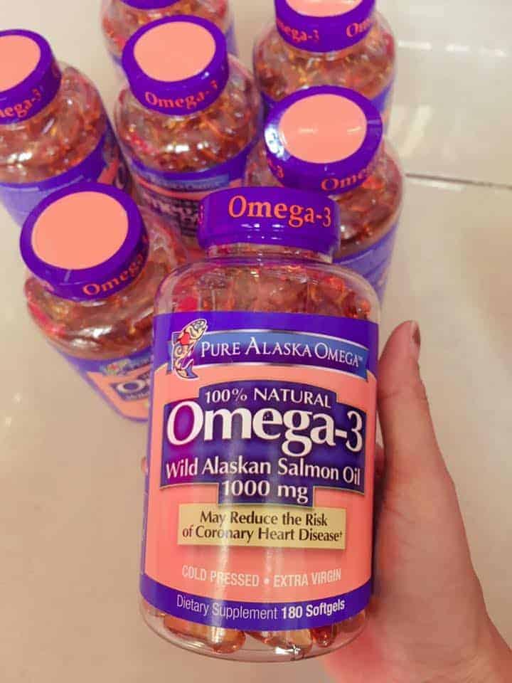 Omega 3 wild alaskan salmon oil 100mg có bán tại Disieuthi.vn